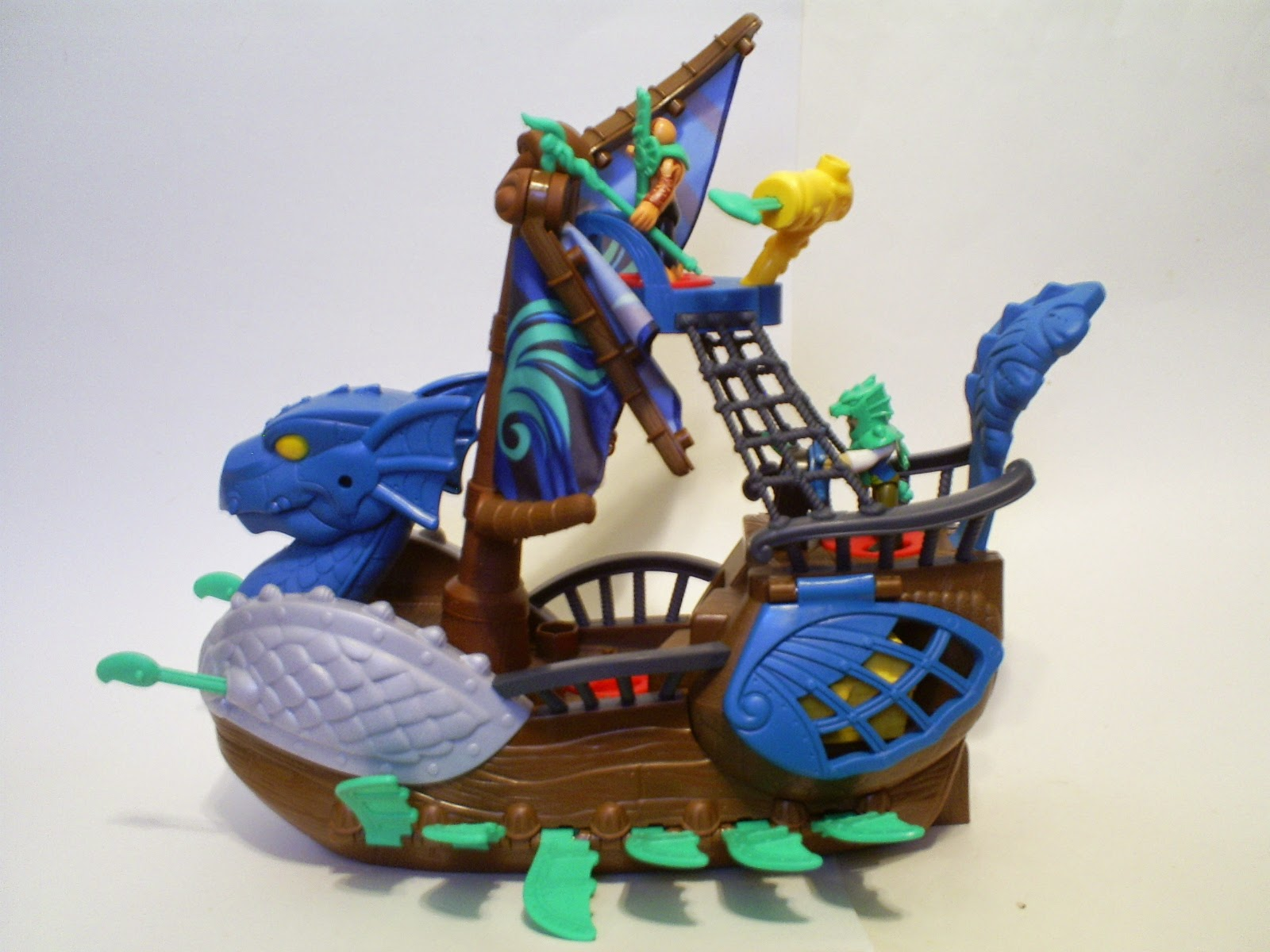 that figures review imaginext pirate serpent ship