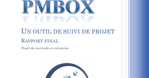rapport final un outil de suivi de projet