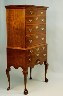 Custom Highboy with Ball and Claw Feet