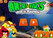 Angry Birds War of Pumpkin