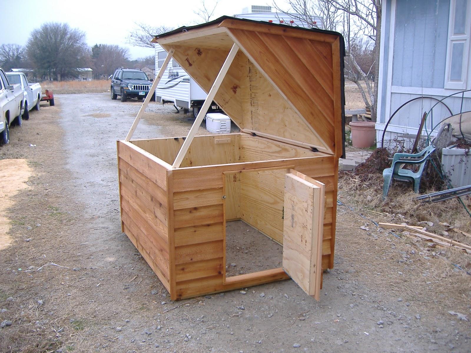 custom well pump houses custom ac heated insulated dog house