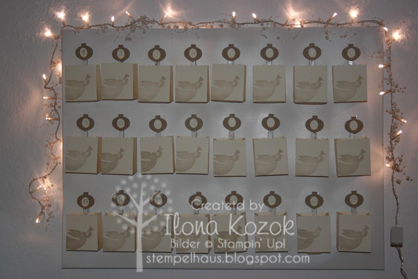 Stempelhaus Tag 7 Engel Adventskalender