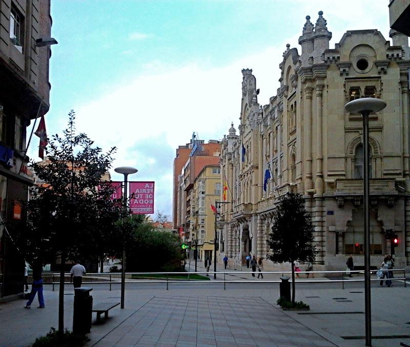 Edificio del Ayuntamiento de Santander