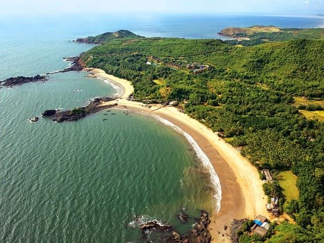 Om Beach Gokarna, Karnataka