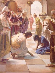 Jesús y la mujer adultera