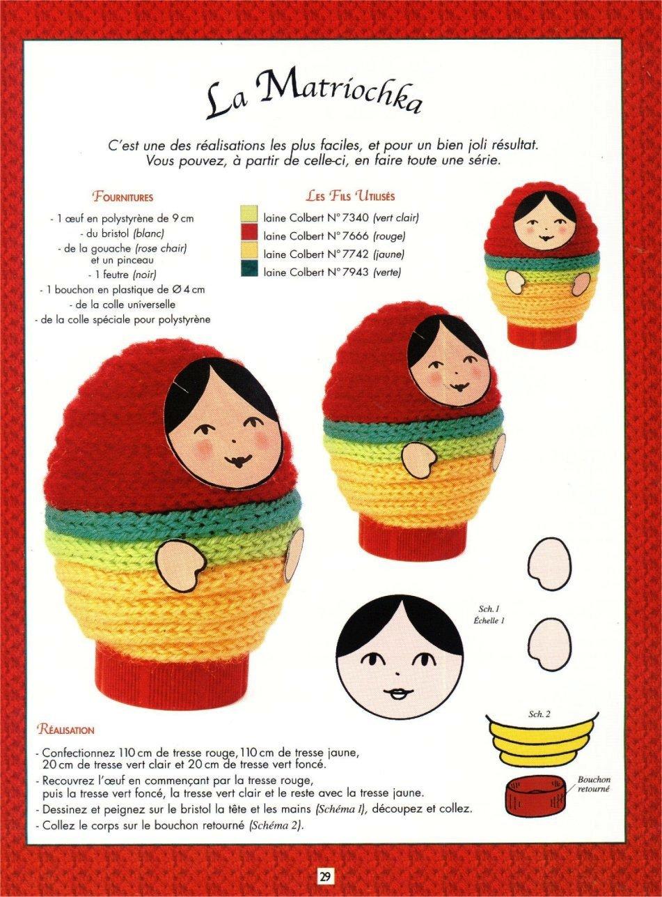 matrioska em crochet