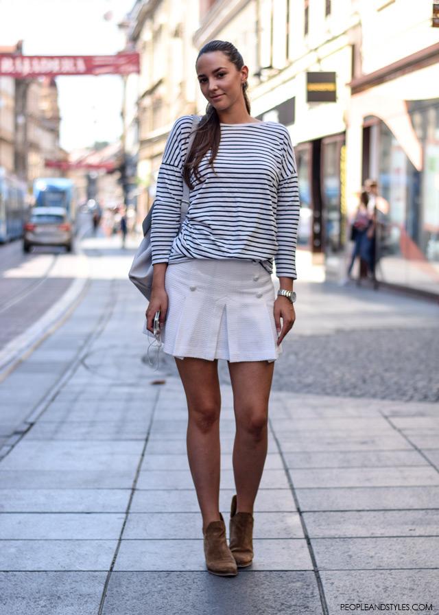 Antonela Ćurković, studentica, Ulična moda u Zagrebu: nekoliko osunčanih stajlinga, street style fashion back to school