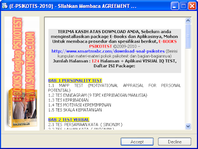 Ebook psikotest full