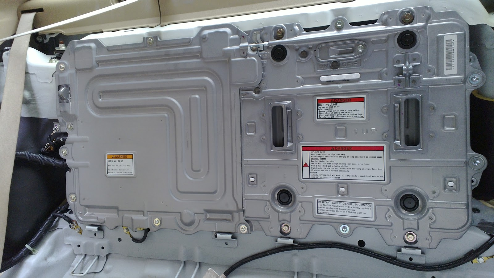 Honda Accord Hybrid Battery Pack
