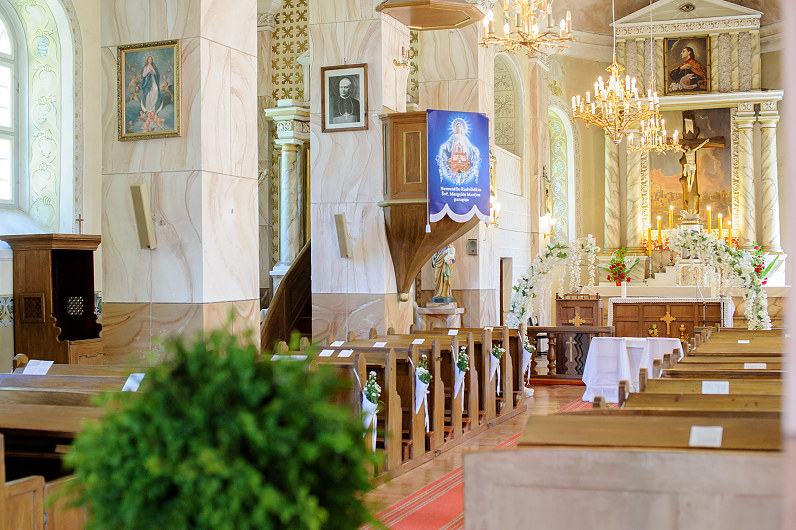 Nemunelio Radviliskio Svc. Mergeles Marijos baznycia
