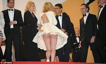 Wardrobe Malfunction at Cannes Film Festival