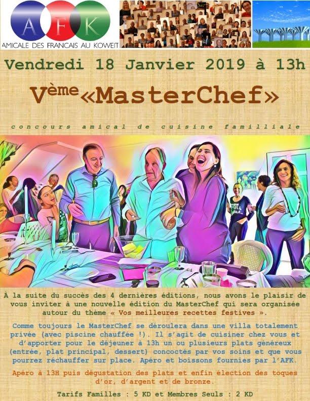 MasterChef 2019 le 18 Janvier