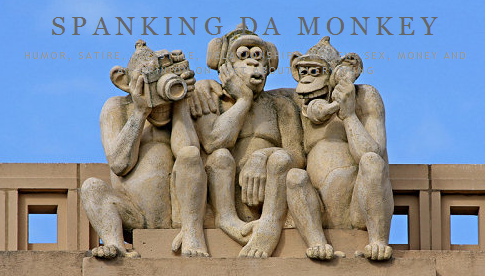 Spank the monkey not yours