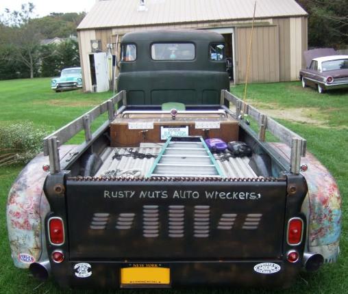 Trucks For Sale: 1948 Dodge C.O.E. Rat Rod Dually For Sale in Arkansas