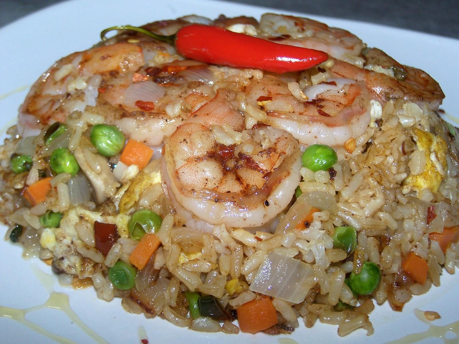 EZ Gluten Free: Five Spice Shrimp Fried Rice
