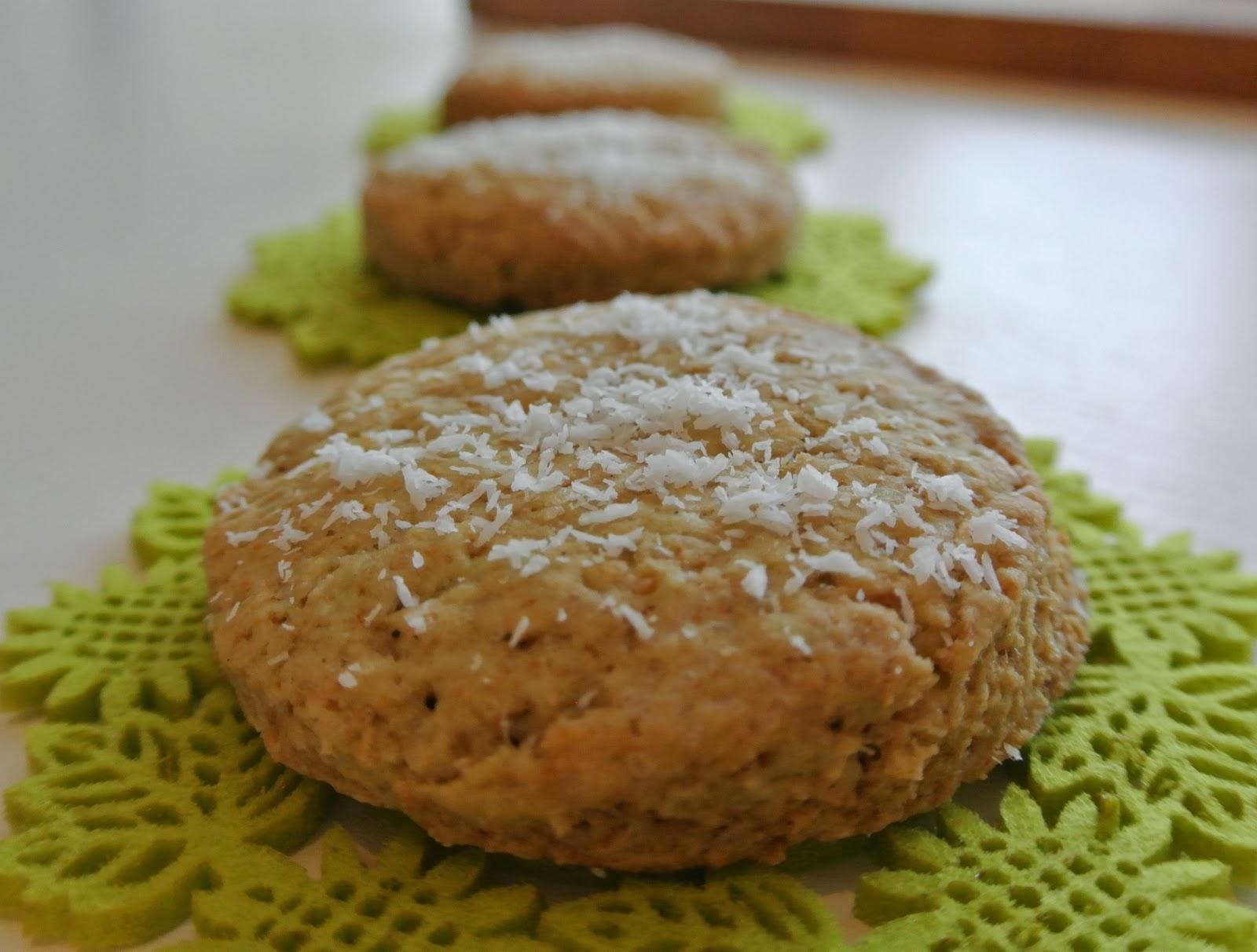 biscotti menta e cocco