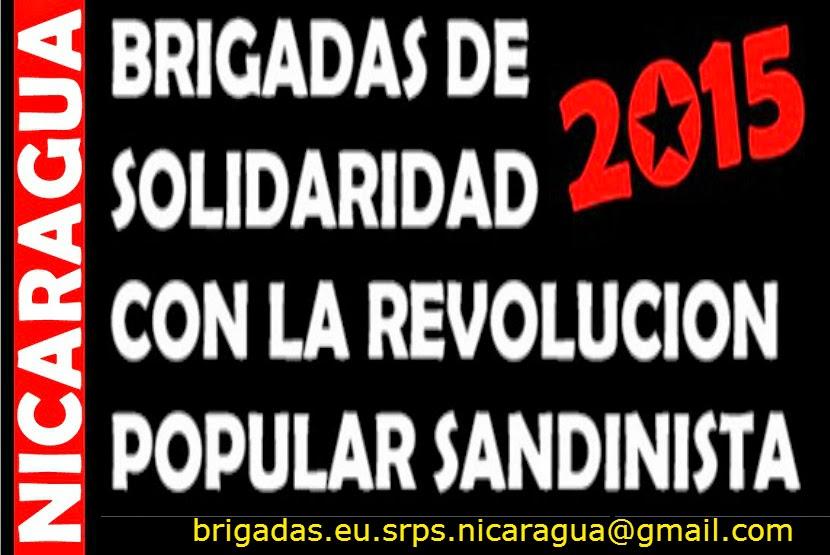 BRIGADA EUROPEA DE SOLIDARIDAD CON LA REVOLUCIÓN POPULAR SANDINISTA