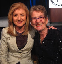 Ariana Huffington with Mary Fisher