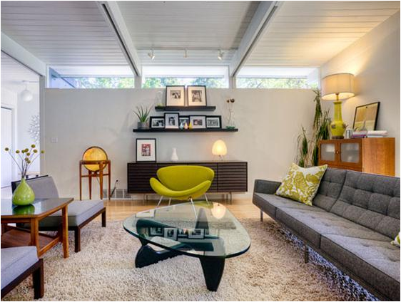 Mid century modern living room design ideas room design Mid century modern design ideas