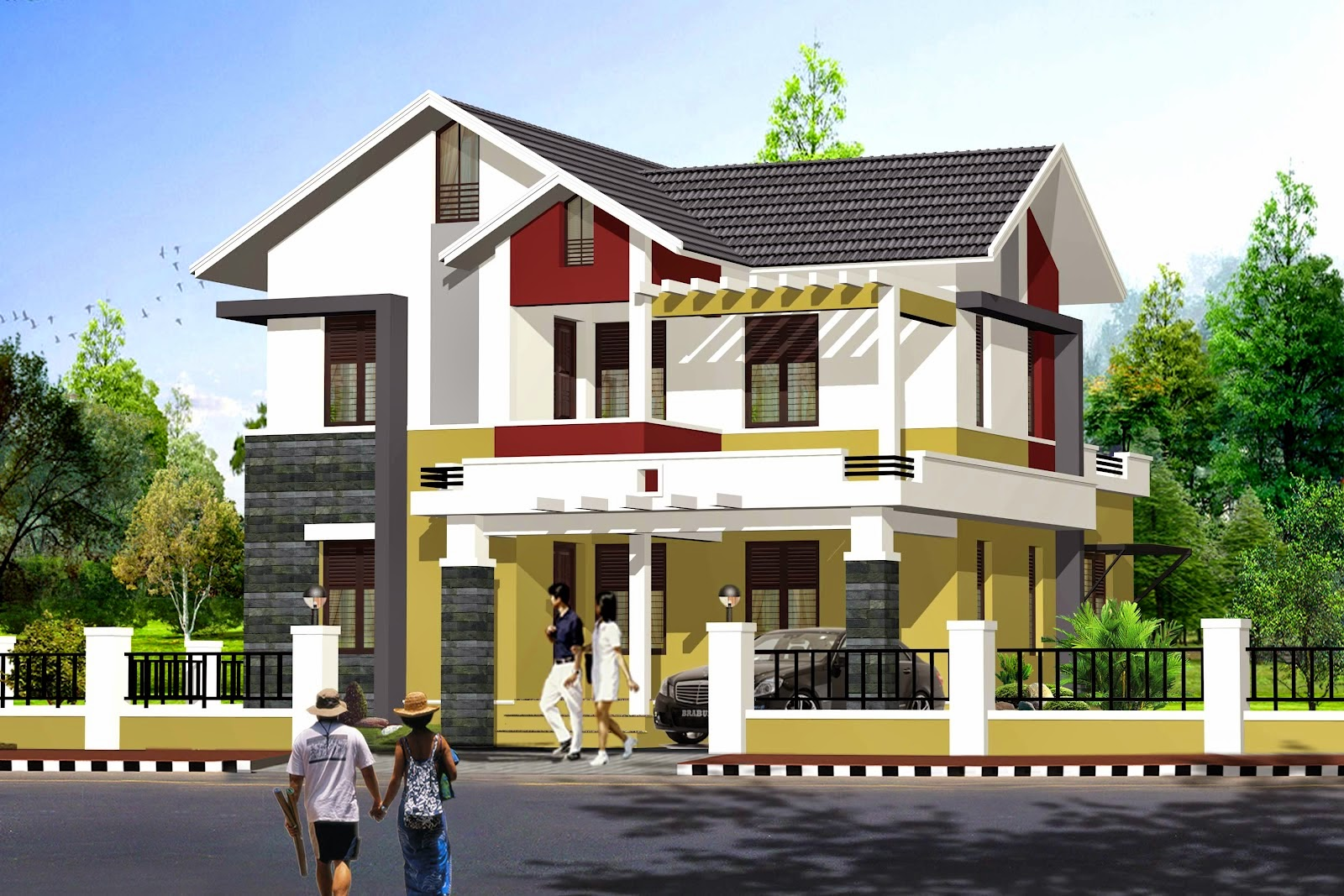gambar desain rumah minimalis 2015
