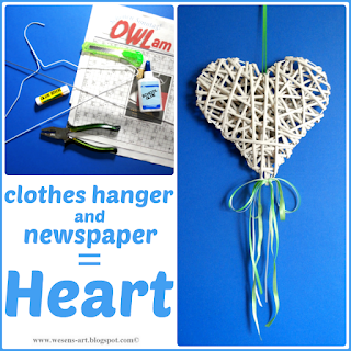 NewspaperHeart wesens-art.blogspot.com