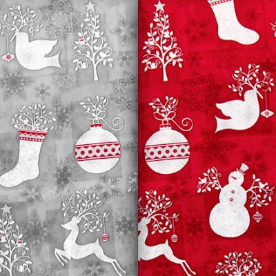 ткани для шитья, рождественские ткани