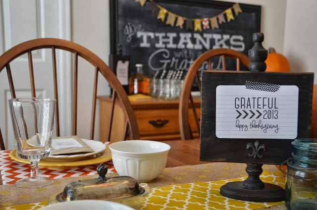 52 mantels 28 thanksgiving ideas features for Table 52 thanksgiving
