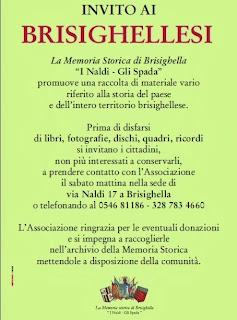 INVITO AI BRISIGHELLESI - PASSAPAROLA