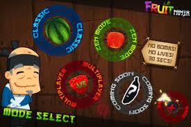 Ứng dụng game mobile Ninja Fruit được bầu chọn là một trong những ứng dụng hay năm 2013 với lượt tải về đông nhất nhì trên bảng xếp hạng của các store trực tuyến.