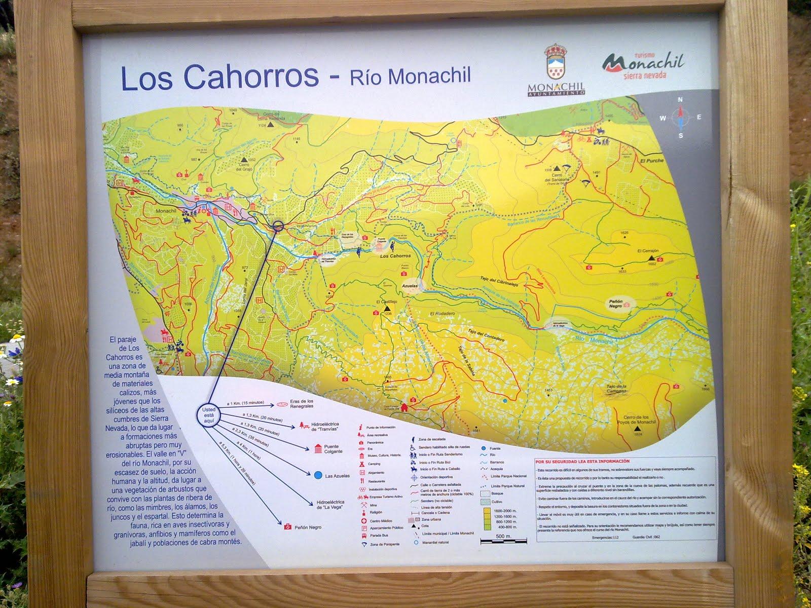 Itinerariun: Ruta Los Cahorros de Monachil
