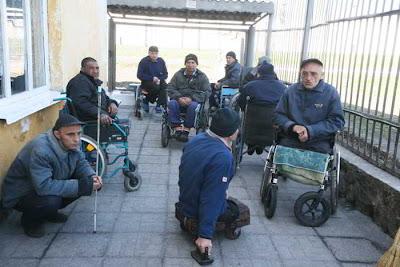 Фото Укринформ:тюрьма для инвалидов