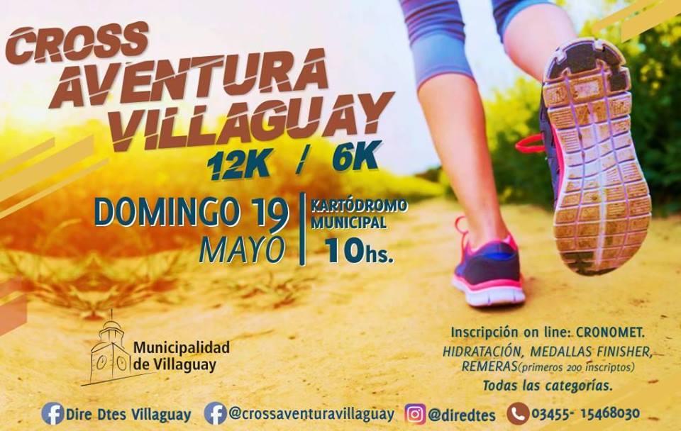 1° Cross Aventura Villaguay 6 y 12 KM(Entre Rios)