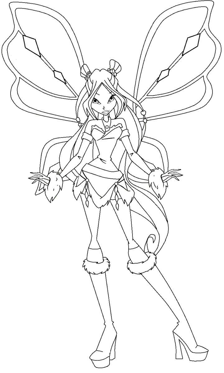 winx club coloring pages lovix - photo#16
