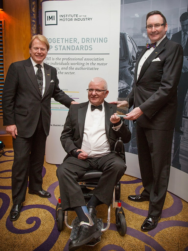 Andy Kent, IMI, award, Steve Nash