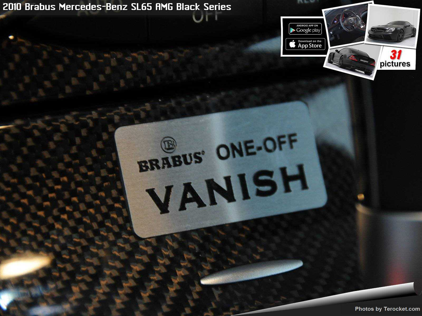 Hình ảnh xe ô tô Brabus Mercedes-Benz SL65 AMG Black Series 2010 & nội ngoại thất