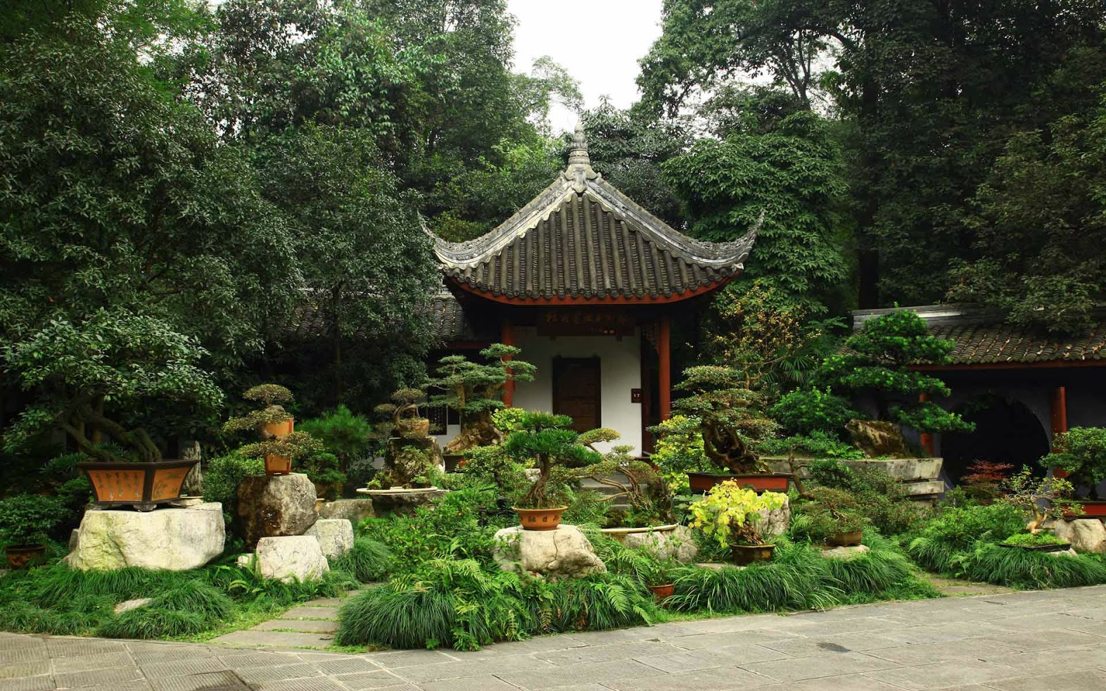 Hd wallpapers chinese garden wallpapers for Japanese house garden