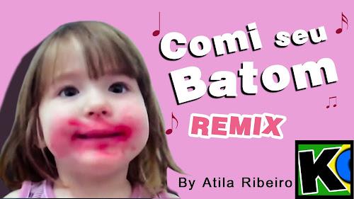 Remix do Meme da Menina Que Comeu o Batom da Mãe