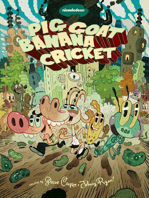 """Pig Goat Banana Cricket"" Upcoming Nickelodeon Show 