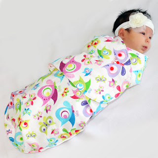 swaddle blanket tutorial