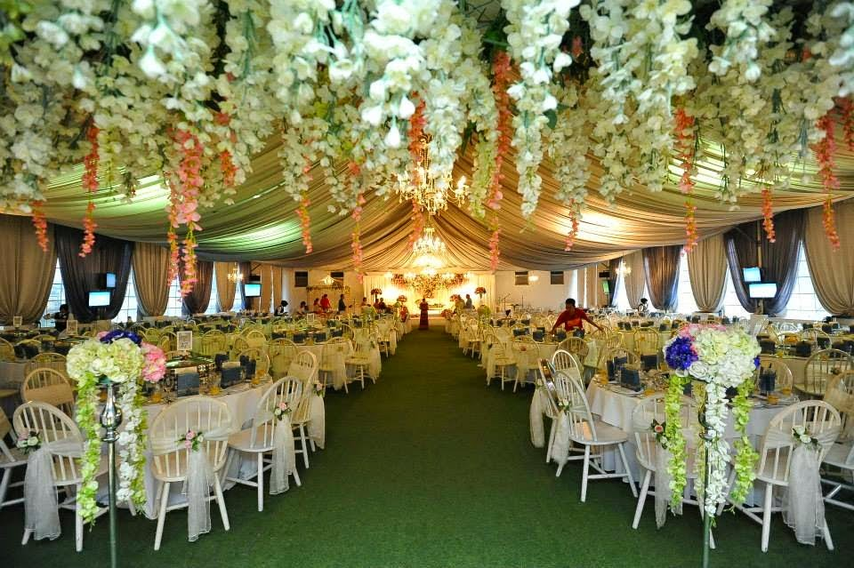 artificial lawn outdoor wedding
