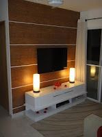 papel contact, papel de parede, painel TV. rack luminária