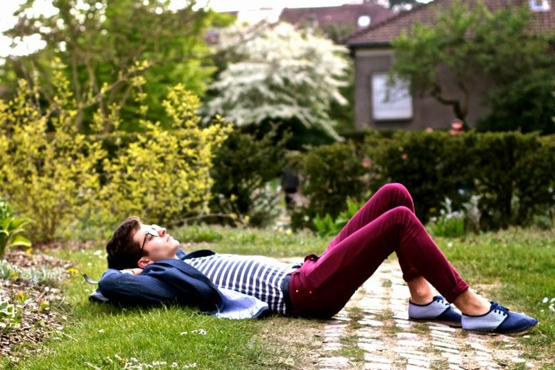 ASOS jeans blazer Craft&commerce tshirt Arsène espadrilles rayées montantes - BLOG MODE HOMME MENSFASHION