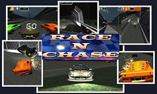 Screenshots of the Race n Chase for Android tablet, phone.