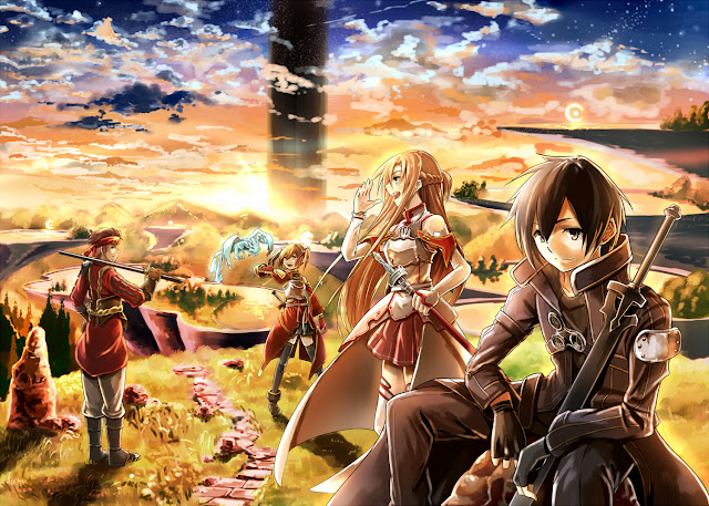 Sword Art Online anime popular