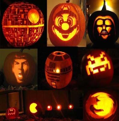 Calabazas de Halloween Geek