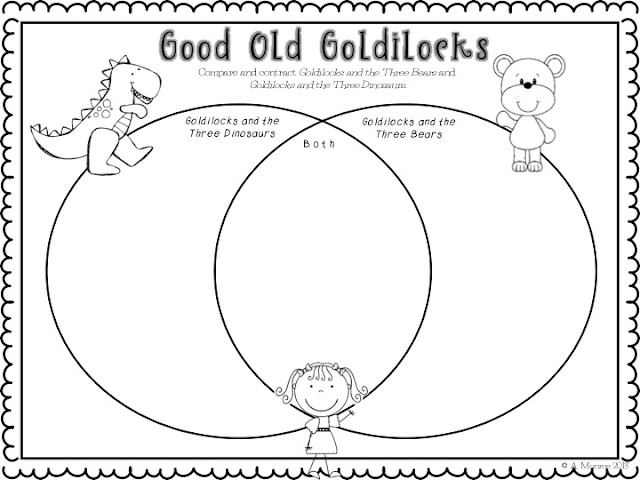 Goldilocks And The Three Dinosaurs Craft