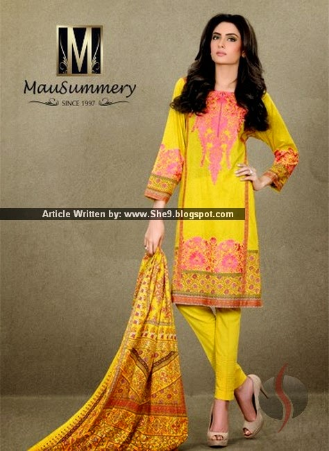 Mausummery Lawn Collection 2015