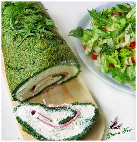 gluten free spinach roulade glutenfreie spinat roulade kitchen magic k chenzaubereien. Black Bedroom Furniture Sets. Home Design Ideas