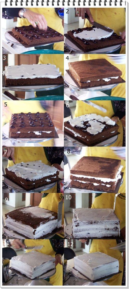 ... tentang Cara Membuat Kue Tart Black Forest . Selamat Mencoba