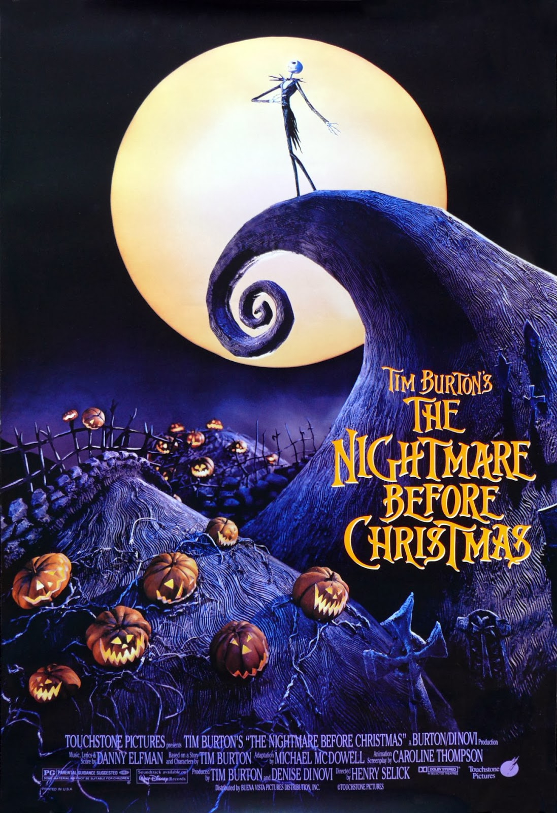 With Love -my obsession with films-: The Nightmare Before Christmas 4D ...